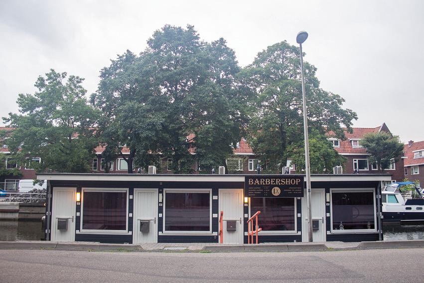 Barbershop Zandpad Utrecht tekst Leonie Hardeman
