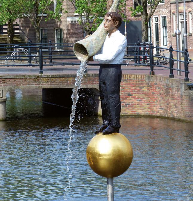 Kunst met het water: elf steden