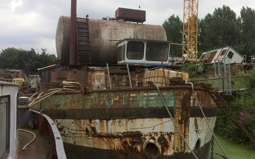 Scheepsjournaal: sloopwater