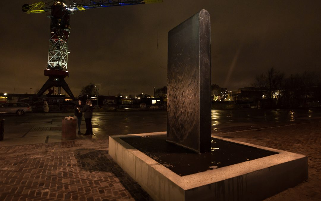 Kunst met water: Monolith (+ video!)