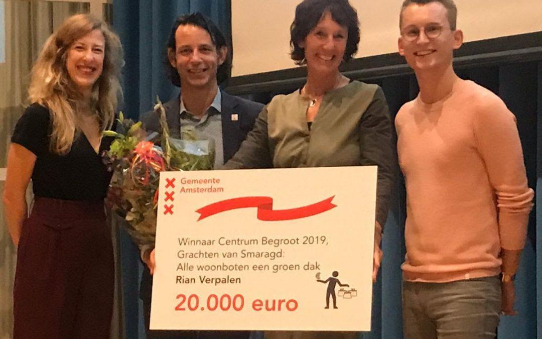 Meld je aan voor een groendak-startpremie van 2.000 euro