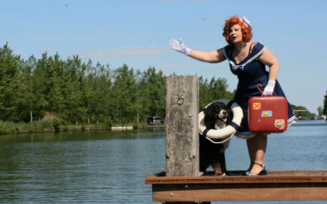 De Waterengel: twee weken op een vlot door Brabant voor een toegankelijke rondvaartboot