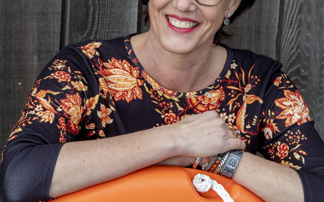 VLOT-hoofdredacteur Renate Meijer: 'Op het water heb ik leren ademhalen'