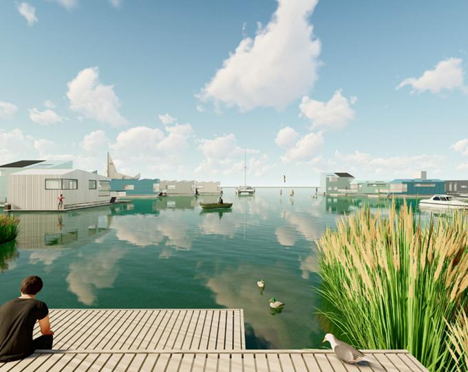 Op zoek naar een duurzame woonboot mét ligplaats? Grijp je kans in Almere
