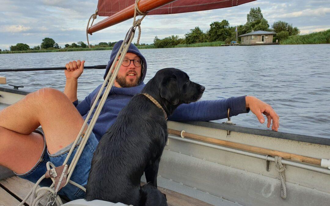 Waterman Sybren: 'Wat ik het liefst wilde, was timmeren aan schepen'